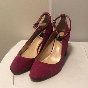 White House black market Fuschia Heels